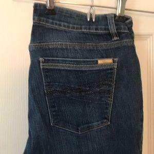 White House black market boot leg jeans 8R
